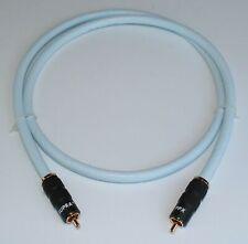 Supra Cables Trico RCA Digitalkabel  mit PPX Stecker 75 Ohm 1,5m