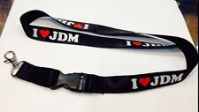 I LOVE JDM Lanyard Detachable Keychain iPod Strap Badge ID Cell Holder