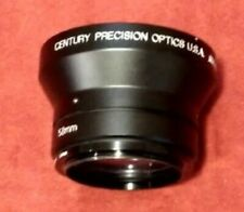 Century Precision Optics .65X Wide Angle Converter C65231 Japan