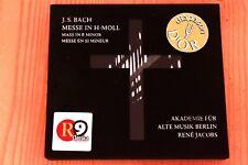 Bach JS - Messe en Si mineur BWV 232 - René Jacobs - 2 CD Edition limitée n°4012