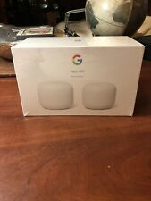 Google Nest WiFi AC2200 Mesh System Router and Point 2 pack