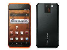 Sharp Docomo SH-10D Orange Unlocked Smartphone