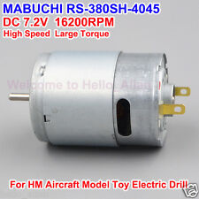 Mabuchi RS-380SH-4045 DC 3V-9V 16200RPM High Speed Carbon Brush DC Motor RC Boat