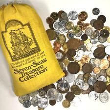 SEVEN SEAS TREASURE COLLECTION  501 World Coins 125 Countries All 1975 & Earlier