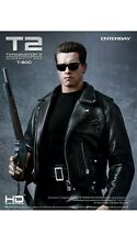 "Enterbay 1/4 20"" HD T-800 T-2 Terminator 2  Judgment Day Arnold Schwarzenegger."