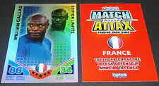 GALLAS FRANCE EDITION LIMITEE TOPPS MATCH ATTAX TRADING CARD GAME FOOTBALL 2010