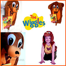 THE WIGGLES WAGS THE DOG PLUSH TABARD (2-4) CHILD KIDS BOYS COSTUME HOOD & TAIL