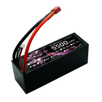 HRB RC Lipo Battery 4S 5500mAh 14.8V 50C 100C Hard Case For TRAXXAS REDCAT FPV