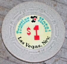 $1 1967 EDITION GAMING CHIP FROM THE FRONTIER CASINO LAS VEGAS NV