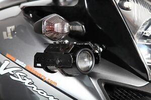 Suzuki V-Strom DL650/1000 Hella fog lights kit with mounting brackets