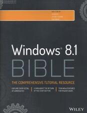 Windows 8.1 Bible, Good Books