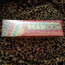 American Indian Bead Loom Kit Metal New In Box Factory Sealed