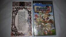 New Sealed Sony PSP Class of Heroes 2 with Certificate