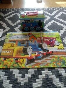 Thomas And Friends Puzzle Tin 35 Pieces Plus 3 Extra Puzzles Storage Tin