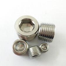Stainless Steel orifice plug R11/2 Threaded plugs   Pipe Plugs  DIN 906 R11/2