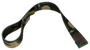 Country Brook Design® Woodland Camo Winch Hook Pull Strap Reflective Polyester