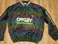 Vintage Oakley Thermonuclear Surf Style ORIGINAL 3/4 Zip Pullover  OSFA