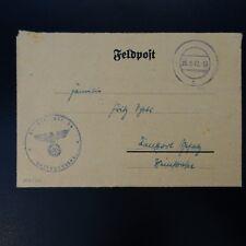 ALLEMAGNE LETTRE FELDPOST BRIEF 25.09.1942
