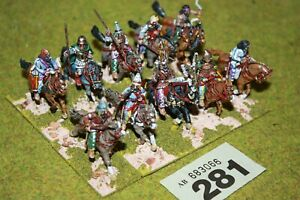 10 WELL PAINTED 28MM ANCIENT PERSIAN CAVALRY WARGAMES METAL MINIATURES 281