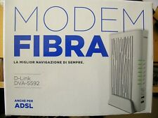 Modem D-Link DVA-5592 per ADSL e Fibra wind tre