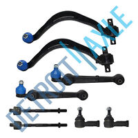 8 pcs Lower Control Arms w/ Ball Joint & 2 Lateral Links + Outer & Inner Tie Rod
