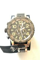 Rocawear Men's RM7830 Rose Gold Tone/Black Bracelet Watch