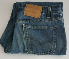 Levis 550 Mens Vintage Denim Jeans Waist 32in Leg 32in W32 L32 Relaxed Fit Blue