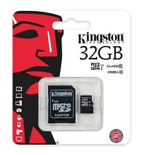 KINGSTON 32GB Micro SD Hc Scheda Di Memoria per Alcatel Pixi 4 Tablet Power Plus
