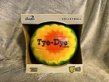 Baden Sports Inc. Tye-Dye Outdoor Synthetic Leather Volleyball, (Tie Dye)