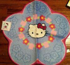 Sanrio Hello Kitty Bathroom Bath Rug Rare - Flower Design