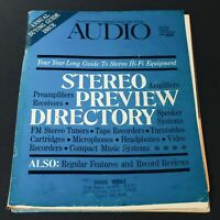 VTG Audio Music Magazine August September 1968 - Stereo Hi-Fi Equipment Guide