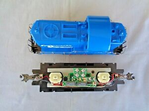 NEW O /O27 Scale RTM Power Chassis & Taylor Trucks Beep Conrail Diesel Switcher