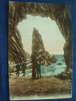 VINTAGE POSTCARD THE NEEDLE ROCK - PLEMONT - JERSEY