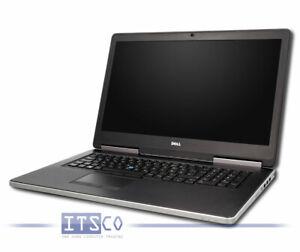 NOTEBOOK DELL PRECISION 7710 CORE i7-6920HQ 4x 2.9GHz 16GB RAM 480GB SSD WLAN