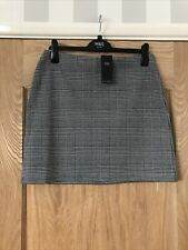 Bnwt Check Short Skirt From M&S Collection Size 14