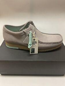 Clarks Originals Wallabee Low Suede Desert Boots Gray Size 12 US