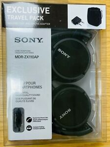 New Sony Earphones (exclusive travel pack) - Inc. Case and airline adapter