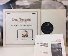 DINO TOMASSINI - LA VOCAZIONE RELIGIOSA 2 LP EDIZIONI PAOLINE ANNI 60 CR 30.7-8