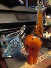 Glass+fish+handblown+and+6%27+giraffe+made+in+Swaziland