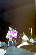ELVIS PRESLEY GYPSY SUIT UNIONDALE NY 7/19/75 ORIGINAL OLD KODAK PHOTO CANDID E