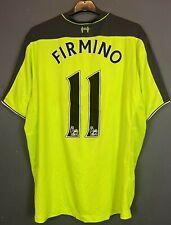 Mens Firmino Fc Liverpool 2016/2017 Soccer Football Shirt Jersey Maillot Size Xl
