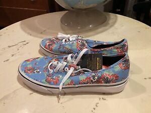 VANS STAR WARS Yoda Aloha shoes sneakers UNISEX mens 10 women's 11.5 New