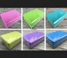 2pcs Yoga Block Pilates Foam Foaming Brick Stretch Health Fitness Exercise Tool