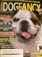 BULLDOG Standard Schnauzer Beauceron July 2004 DOG FANCY Magazine