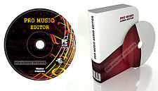 Studio Musica MP3 Audio Suono Montaggio Registrazione Software Per Pc and Mac