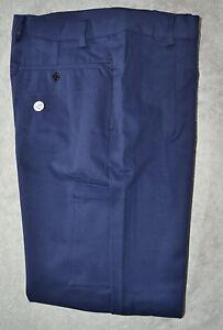 Pantalone uomo lavoro Taglia 70 cotone sanforizzato K 33 MADE IN ITALY Blu