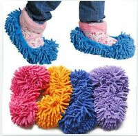 1PC Mop Slippers Floor Polishing Cover Cleaner lazy Dusting Cleaning Foot Shoes