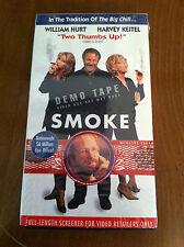 SMOKE Rare Screener Promo Movie VHS f William Hurt HARVEY KEITEL Ashley Judd OOP