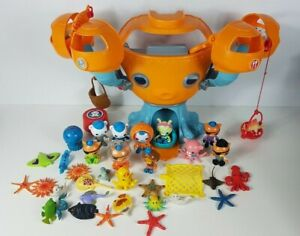 Octonauts Octopod Playset as well as 9x Figures & 25 Sea Creatures