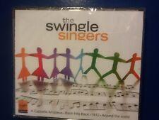 THE. SWINGLE. SINGERS.          FOUR. COMPACT. DISCS.         VIRGIN. CLASSICS.